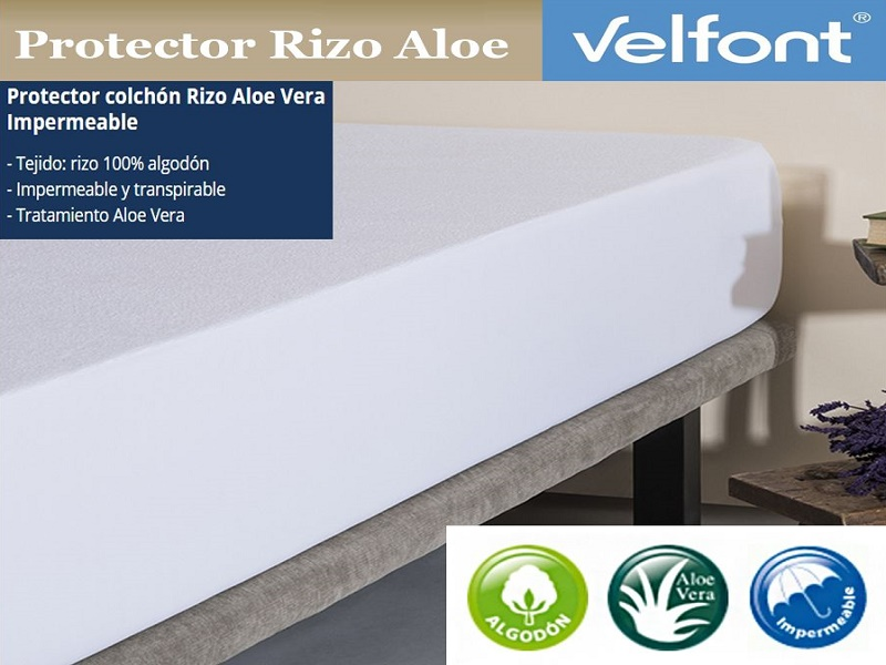 PROT.COLCHON RIZO ALOE 550328
