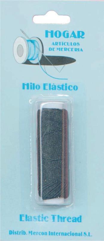 HILOS-MERCERIA-COMPLEMENTOS  HILO ELASTICO 002416