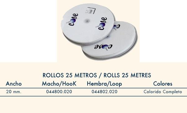 HILOS-MERCERIA-COMPLEMENTOS  CINTA DE CIERRE MACHO 44800 20