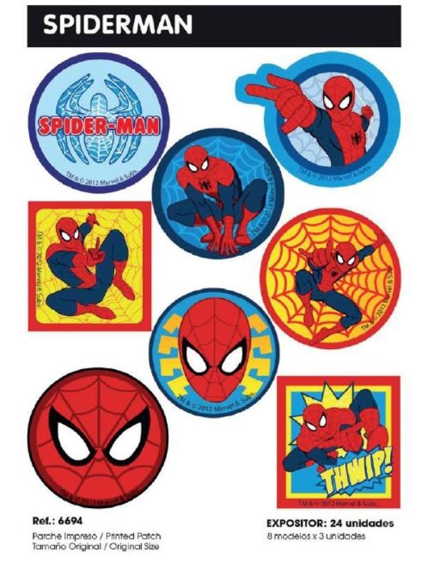 PARCHES IMP SPIDERMAN E40 6694