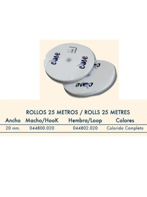 HILOS-MERCERIA-COMPLEMENTOS  CINTA DE CIERRE ADHES/H 44804