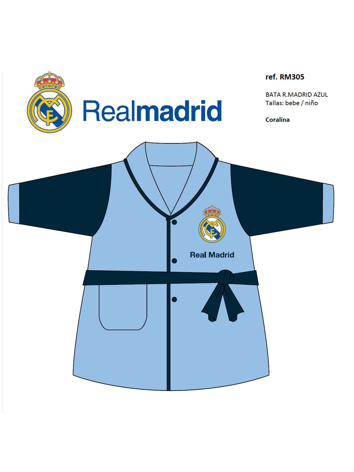 REAL MADRID  BATA NIÑO REAL MADRID RM305