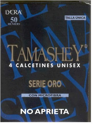 TAMASHEY  CALCETIN UNISEX 000141 2P 50 D